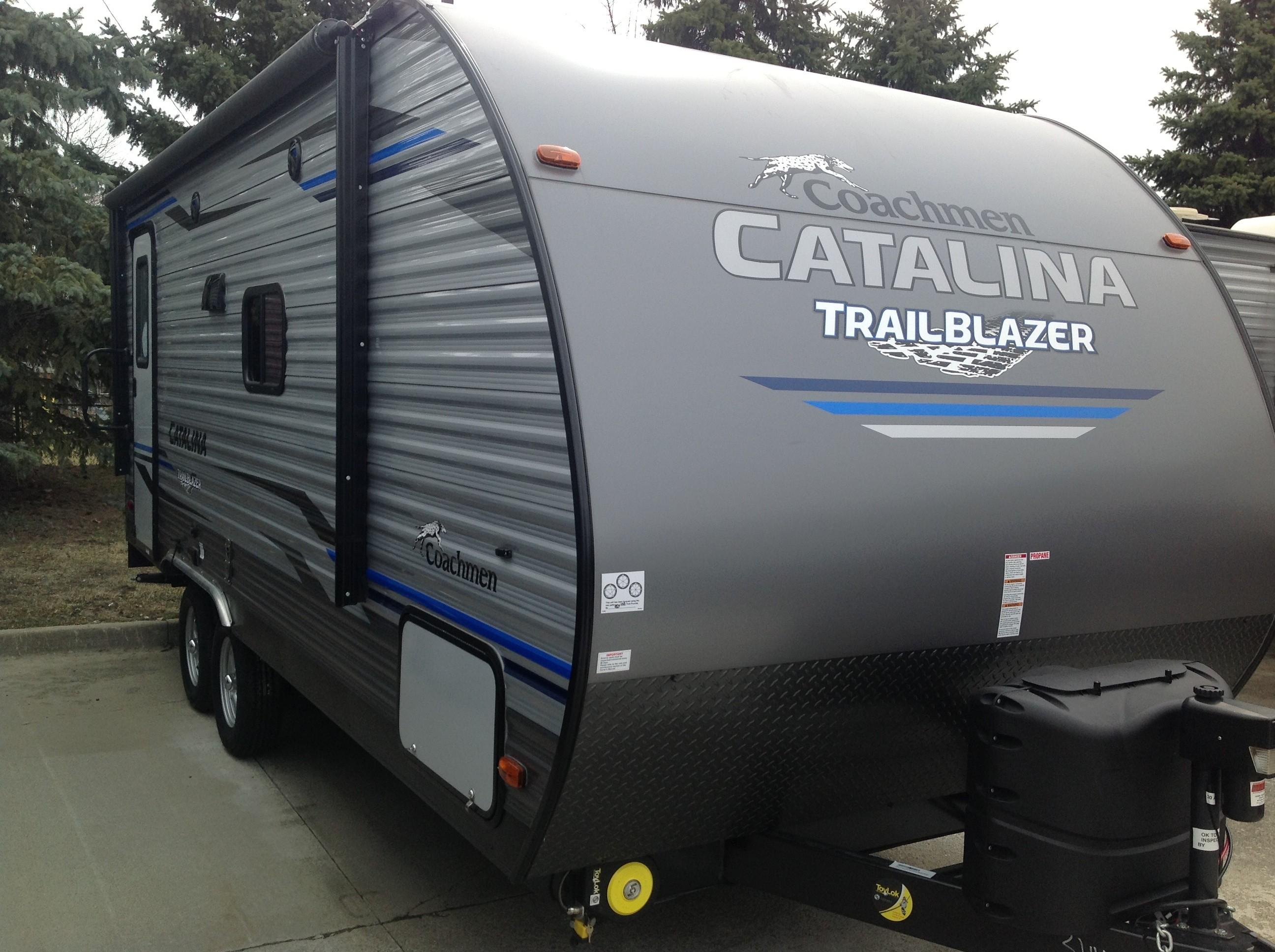 New, 2019, Coachmen, Catalina Trailblazer 19TH, Toy Haulers