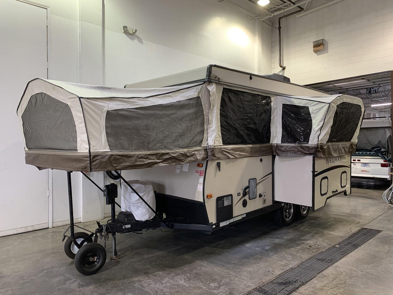 Used, 2014, Rockwood, M-296HW, Pop-Up Campers