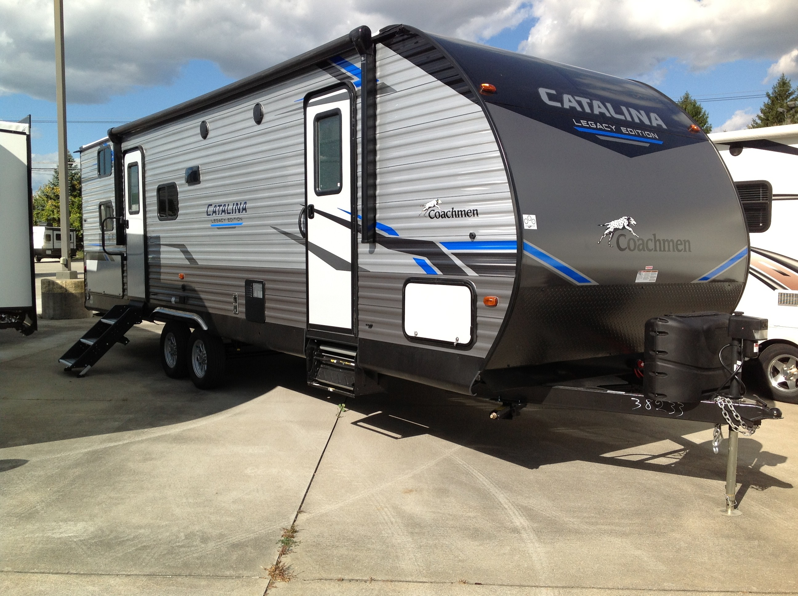 New, 2021, Coachmen, Catalina Legacy Edition 263BHSCKLE, Travel Trailers