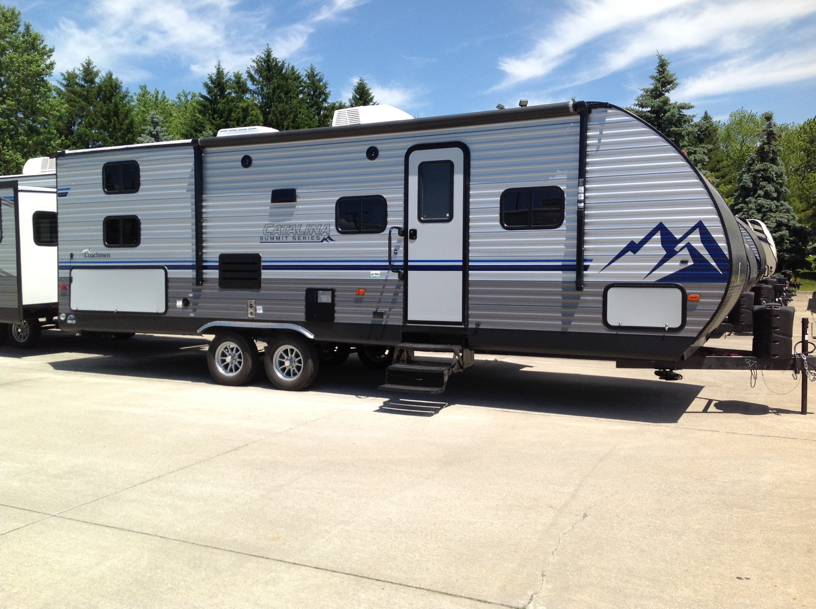 New, 2021, Coachmen, Catalina Summit 261 BHS-8 , Travel Trailers