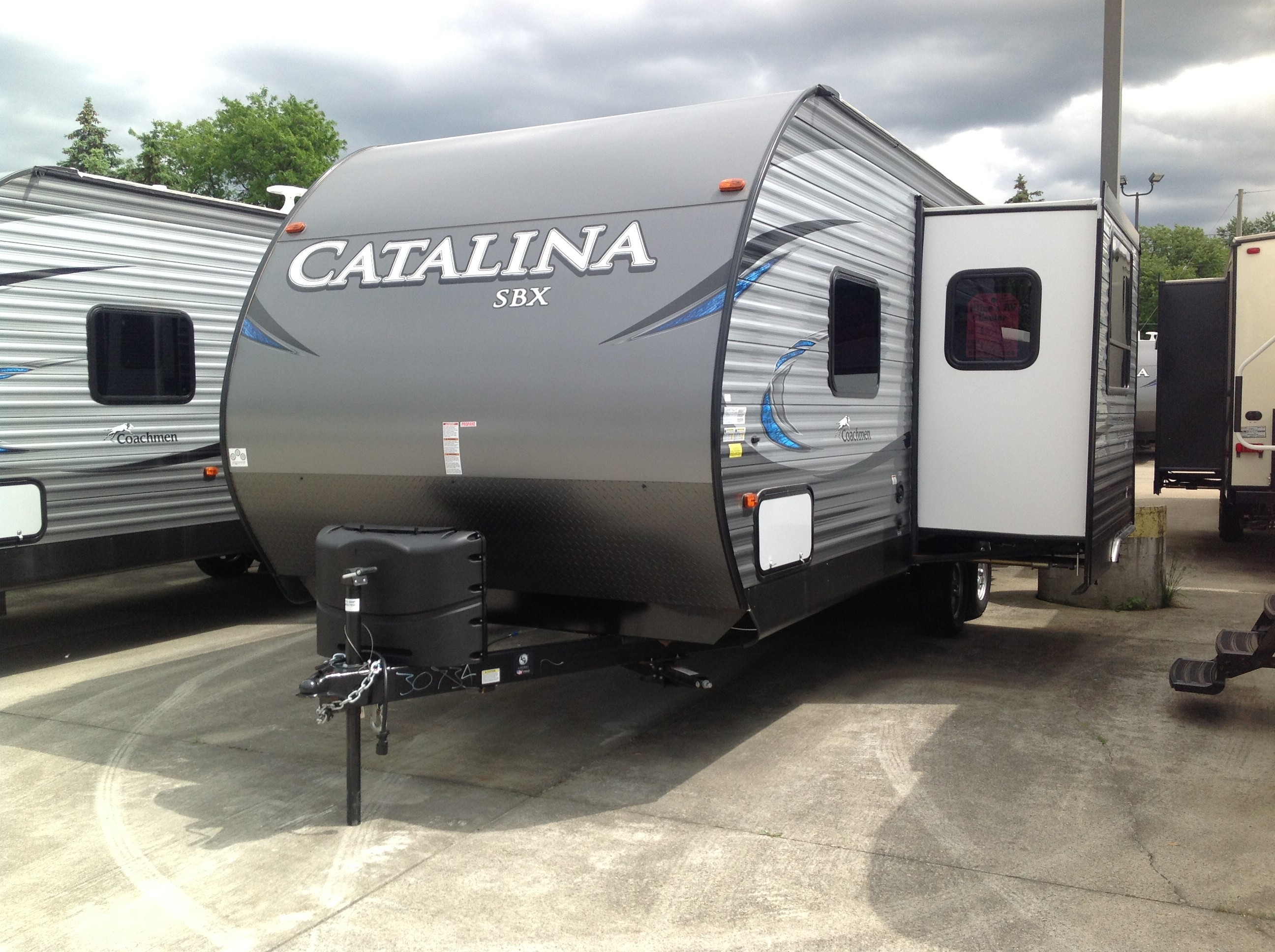 New, 2021, Coachmen, Catalina Legacy Edition 333 RETS, Travel Trailers