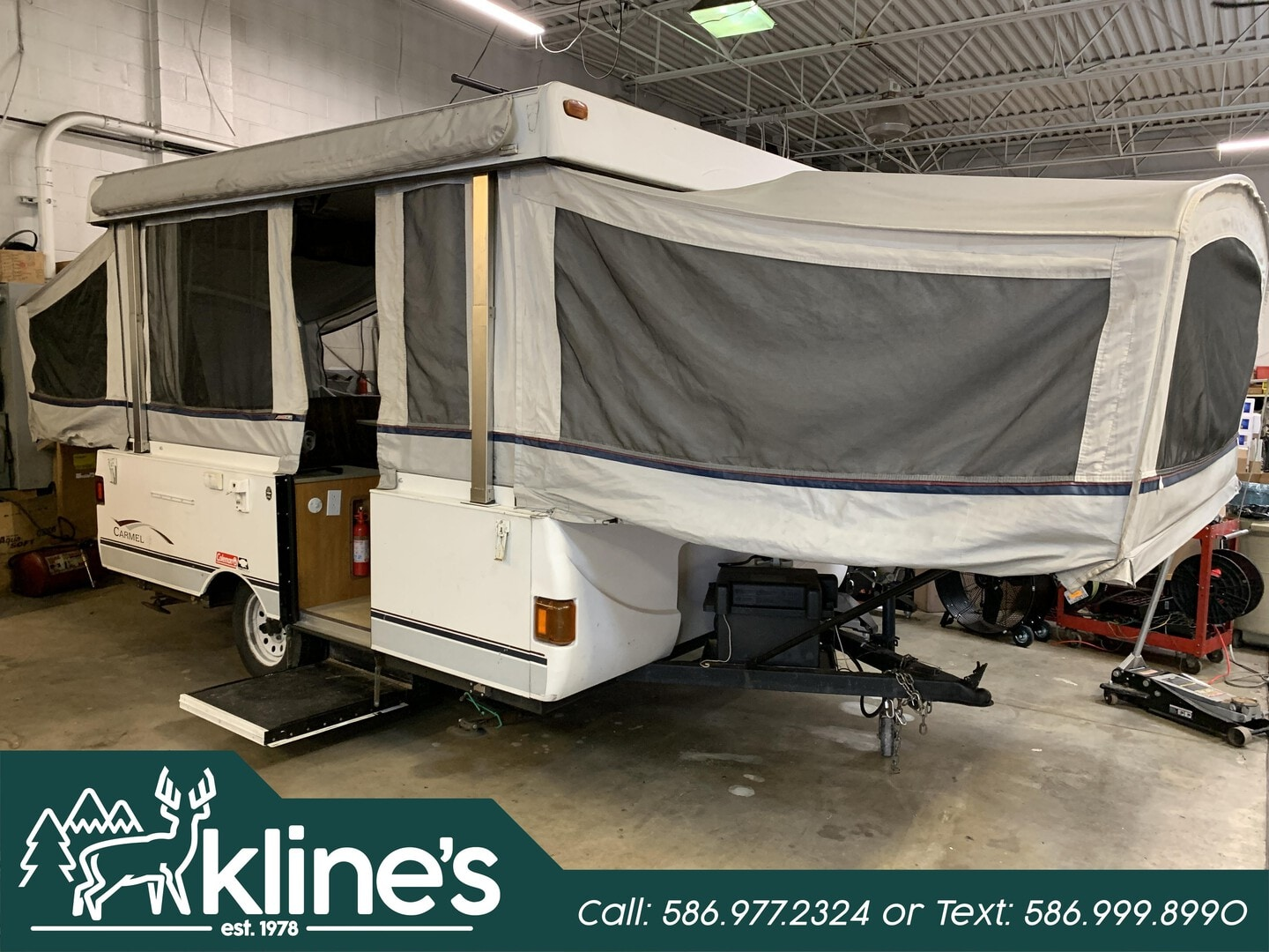 Used, 2004, Coleman Camping Trailers, Grand Tour series Carmel-3858, Pop-Up Campers