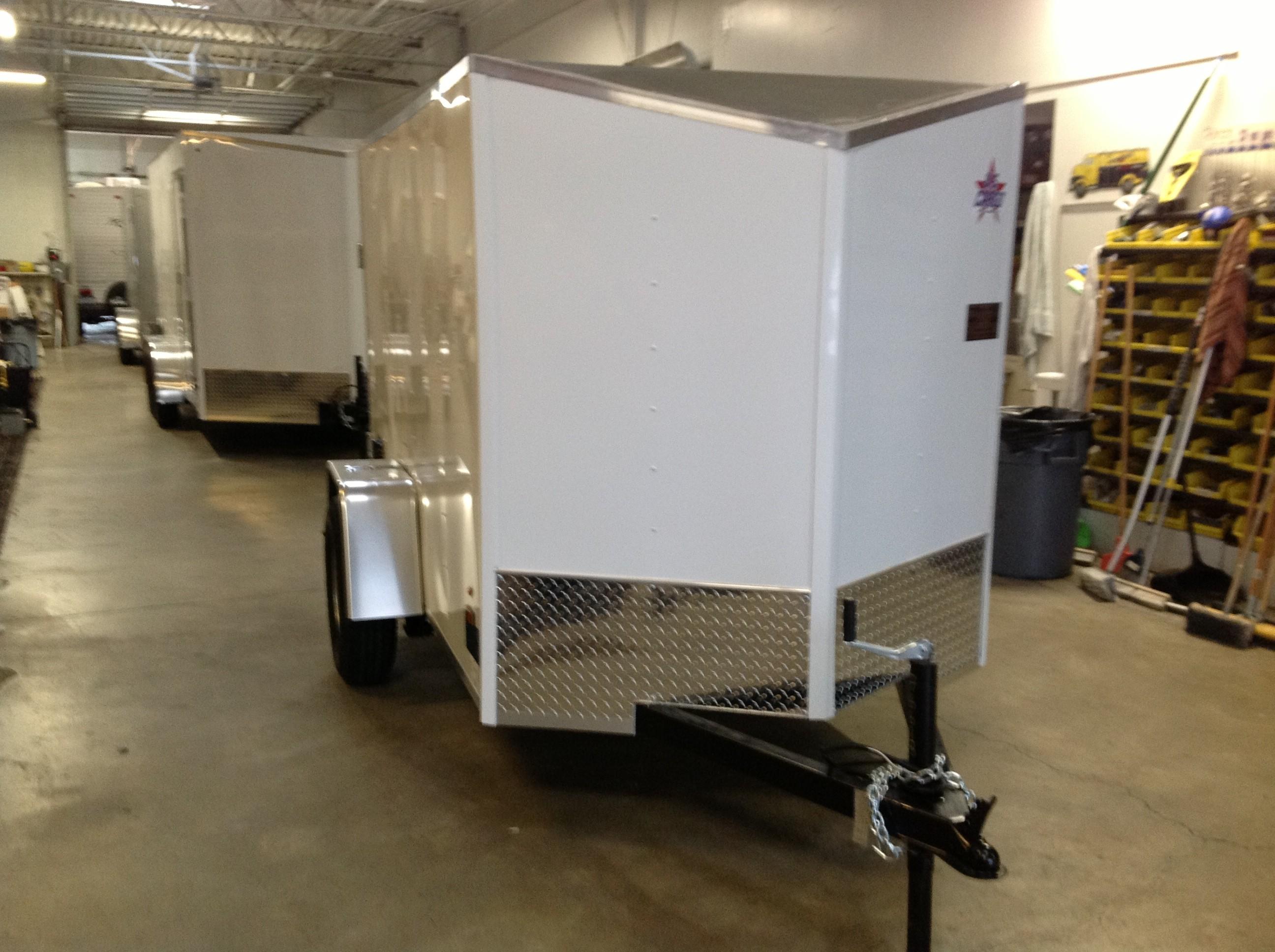 New, 2021, US Cargo, ULAFT 5x 8 sa, Cargo Trailers