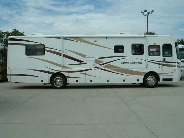 Used, 2007, Sportscoach, 354MBS - CROSS COUNTRY, RV - Class A