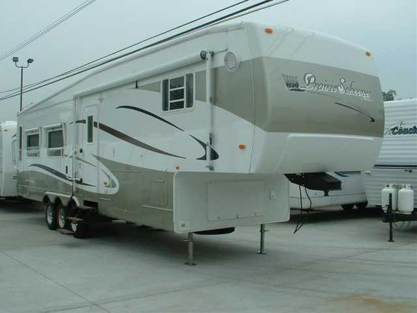 Used, 2004, Gulf Stream, 37' W/3 SLIDES - PRAIRIE SCHOONER, Fifth Wheels