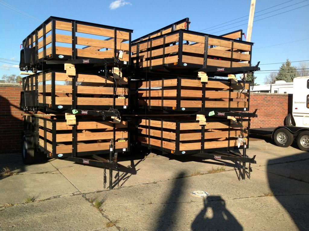New, 2019, Forest River, Utility & Landscaping Trailers-- Truckload Sale!!!, Utility Trailers