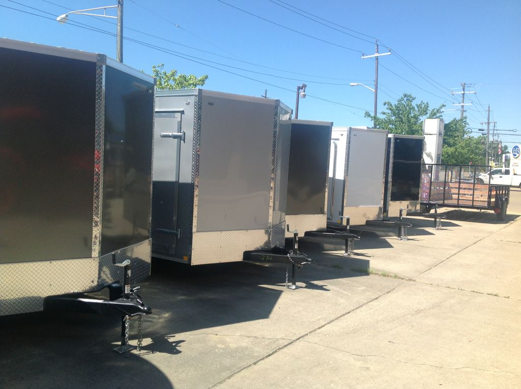 New, 2019, US Cargo, ENCLOSED CARGO TRAILERS--ALL SIZES Available, Cargo Trailers