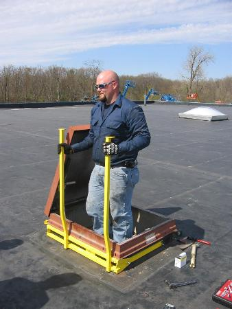New, Other, Roof Hatch Safety Grab Bars, Other - Heavy Equipment