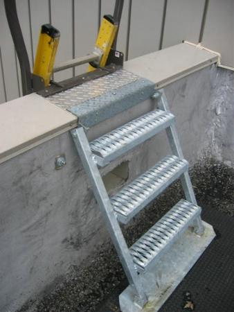 New, Other, Parapet Back Ladder System, Other - Heavy Equipment