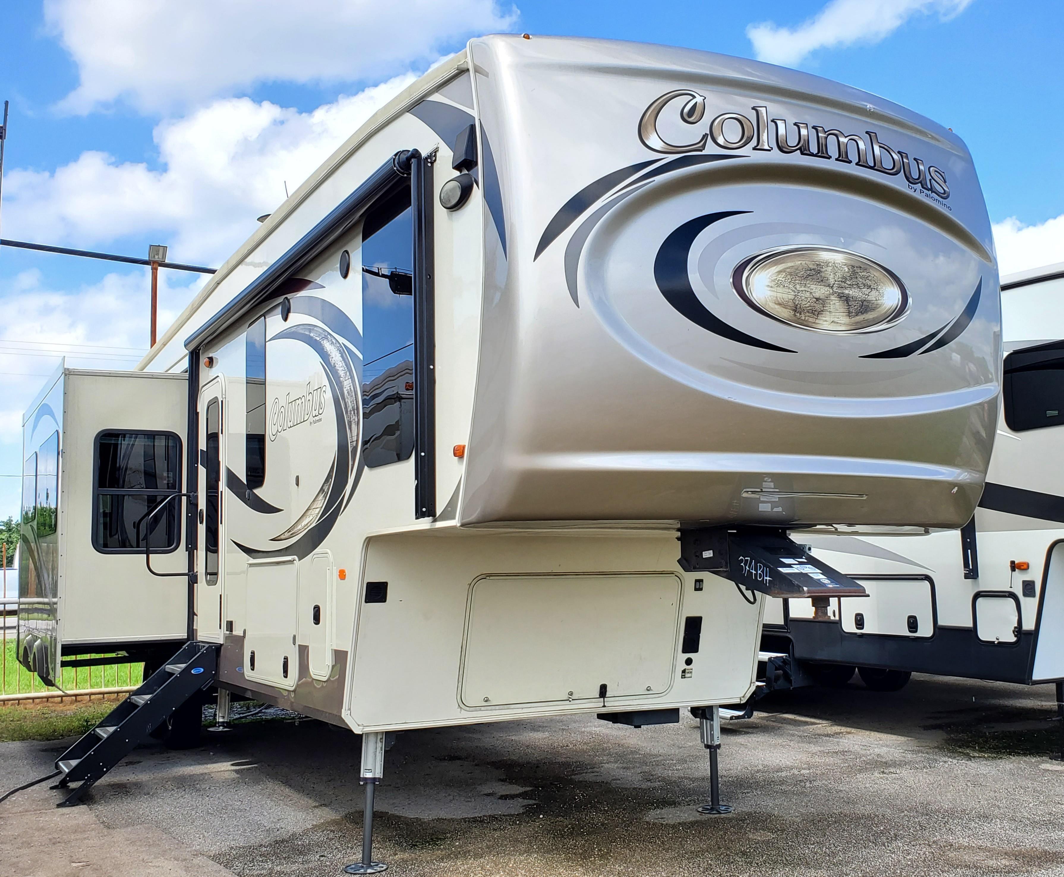 Used, 2019, Palomino, Columbus 374BH, Fifth Wheels