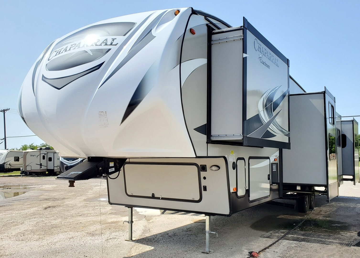 Used, 2019, Coachmen, Chaparral 373MBRB, Fifth Wheels