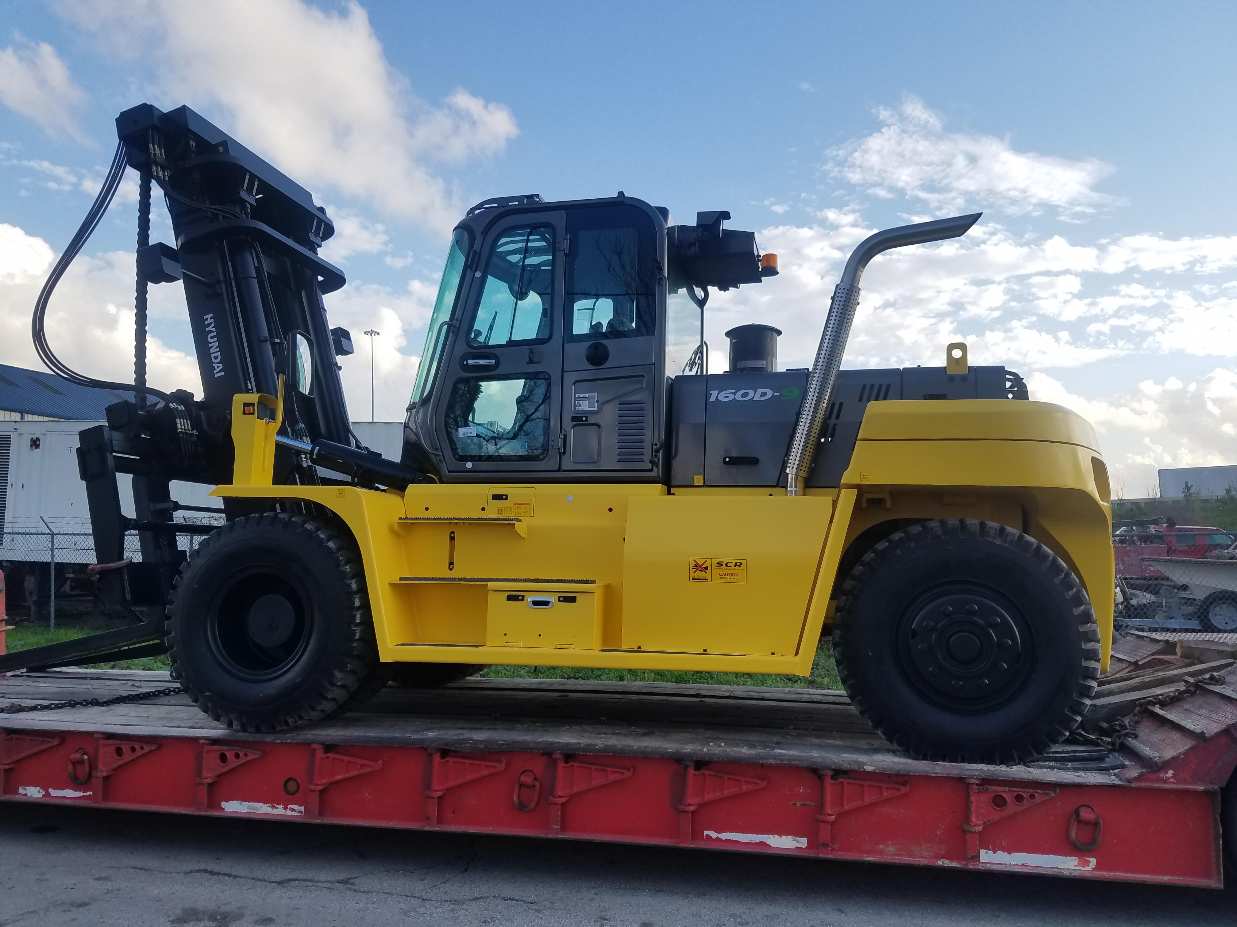 Used, 2018, Hyundai, 160D, Forklifts / Lift Trucks