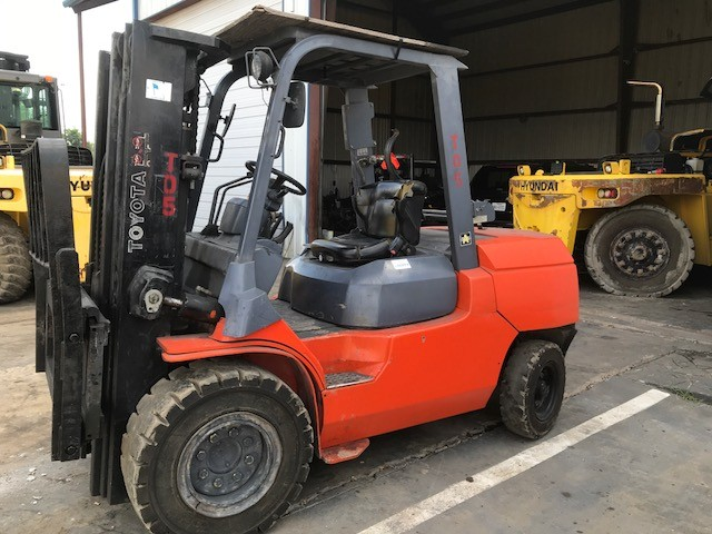 Used, 2008, Toyota, 7FGU45, Forklifts / Lift Trucks