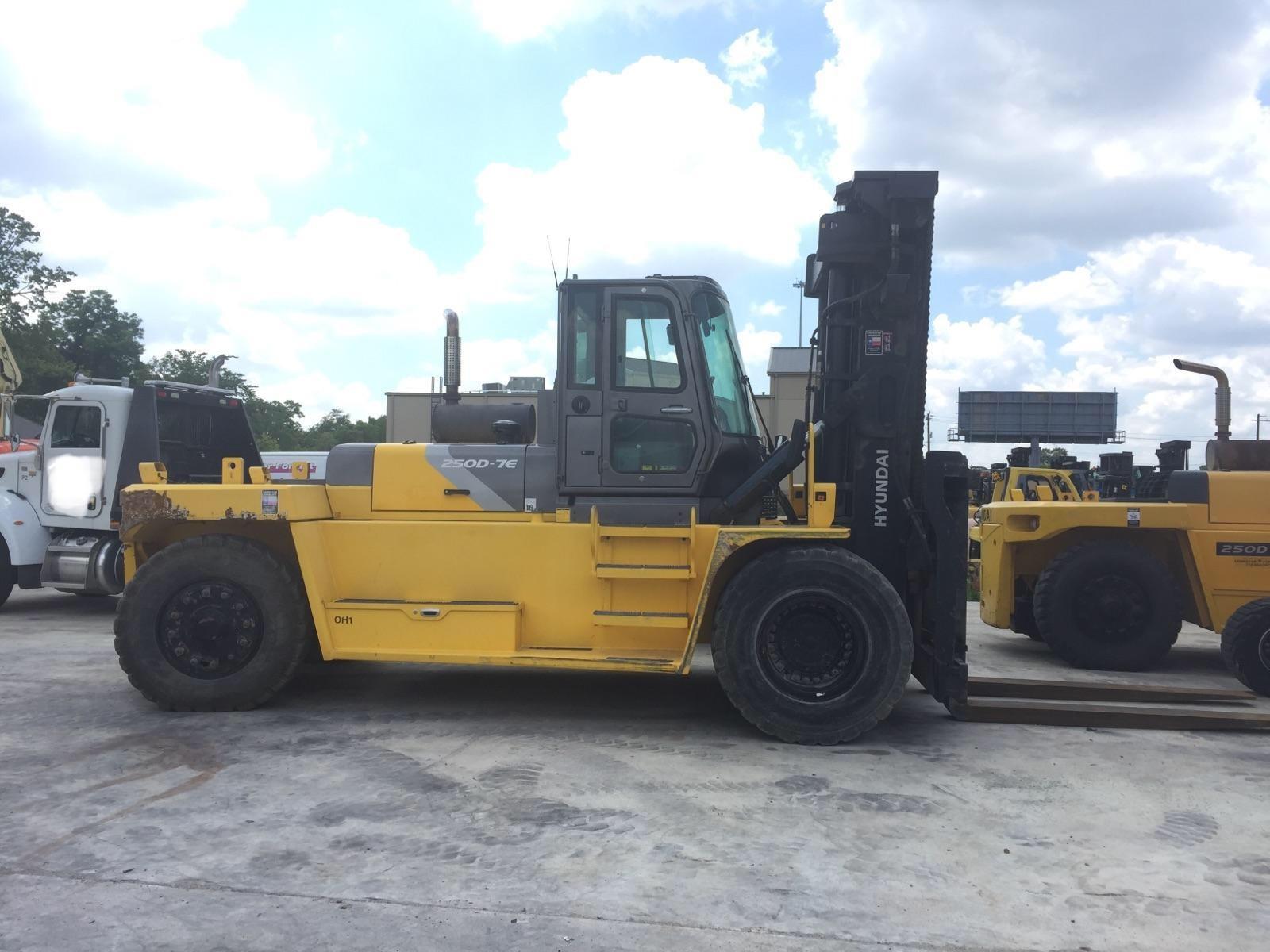 Used, 2014, Hyundai, 250D, Forklifts / Lift Trucks