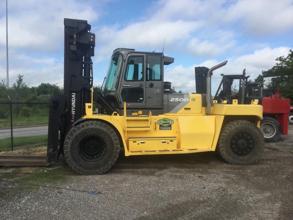 Used, 2015, Hyundai Construction, 250D-9, Forklifts / Lift Trucks