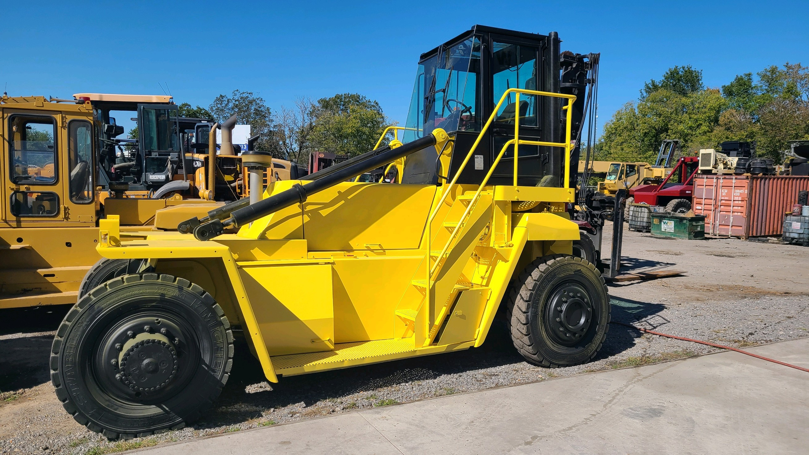 Used, 2006, Hyster, H400EC, Forklifts / Lift Trucks