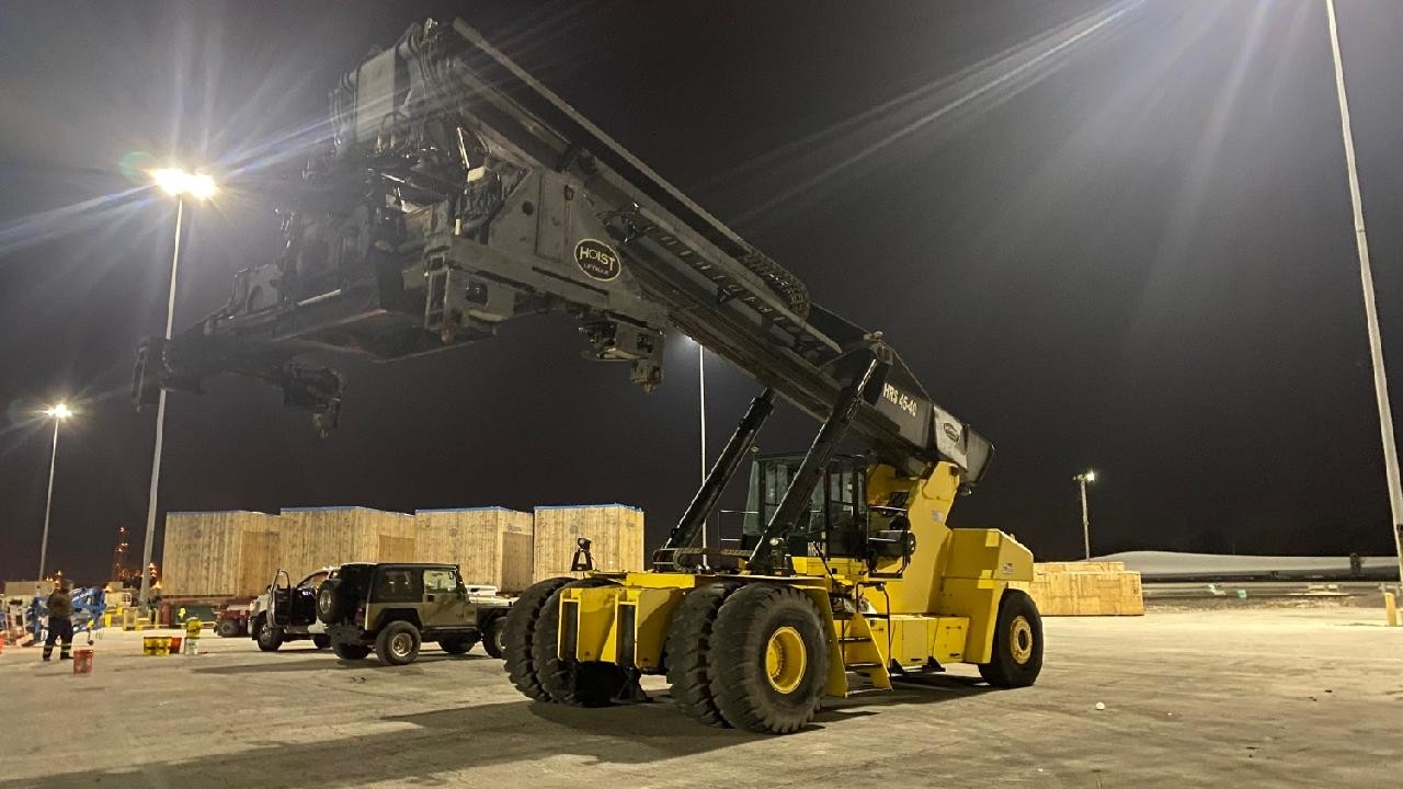 Used, 2012, Hoist, HRS 45-40, Material Handling Equipment