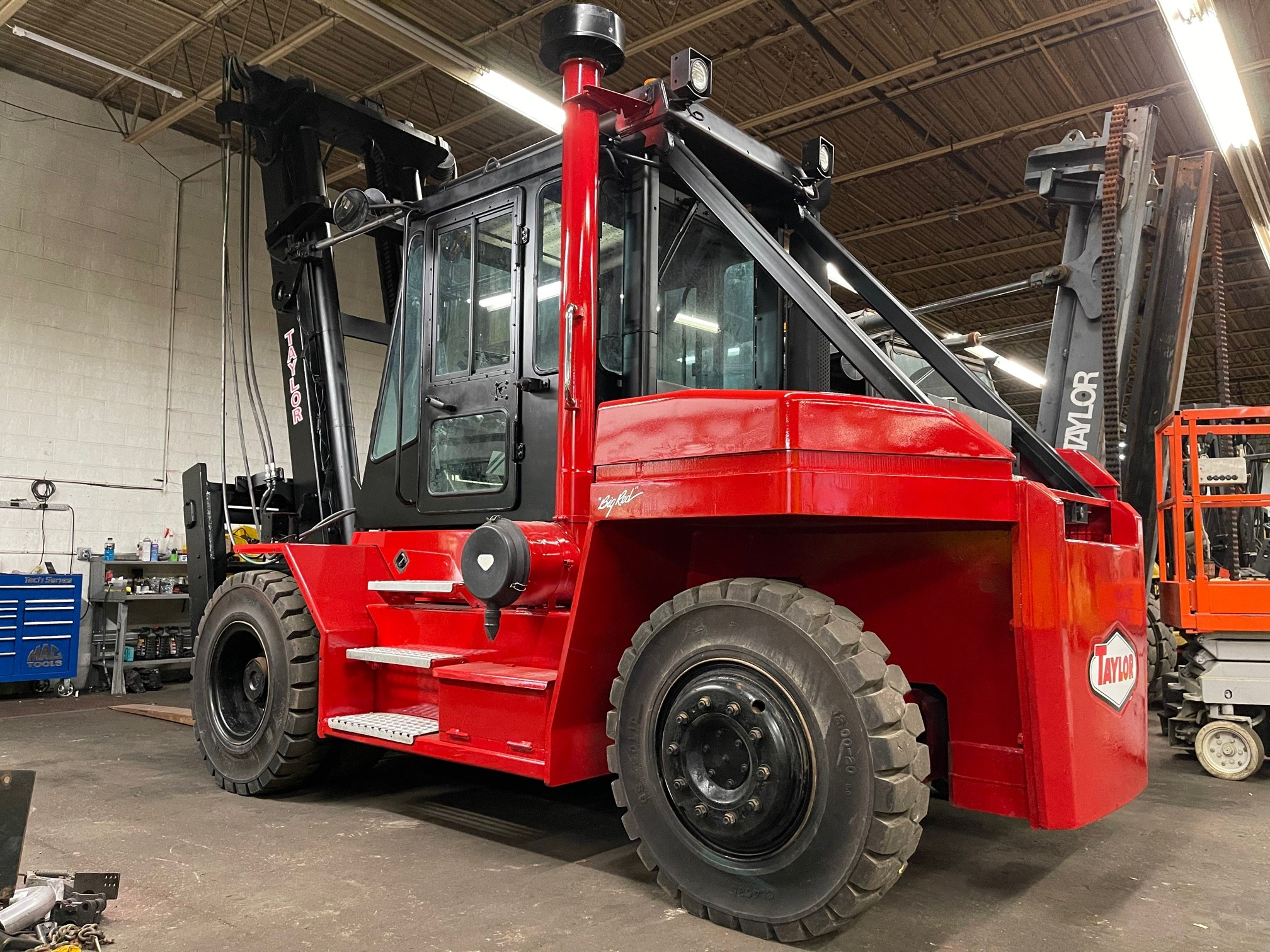 Used, 2008, Taylor, TX300S, Forklifts / Lift Trucks