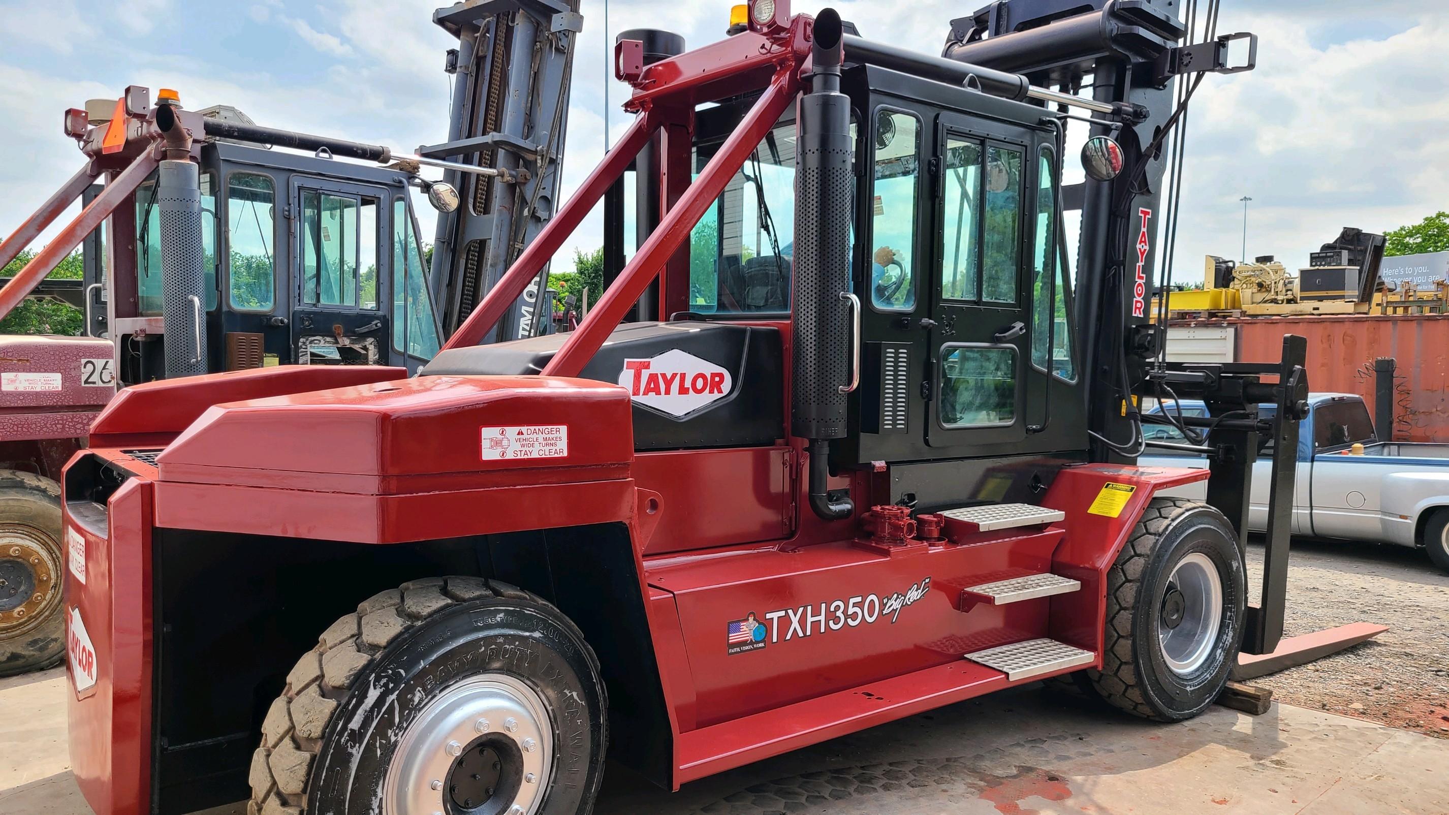 Used, 2009, Taylor, TXH350L, Forklifts / Lift Trucks
