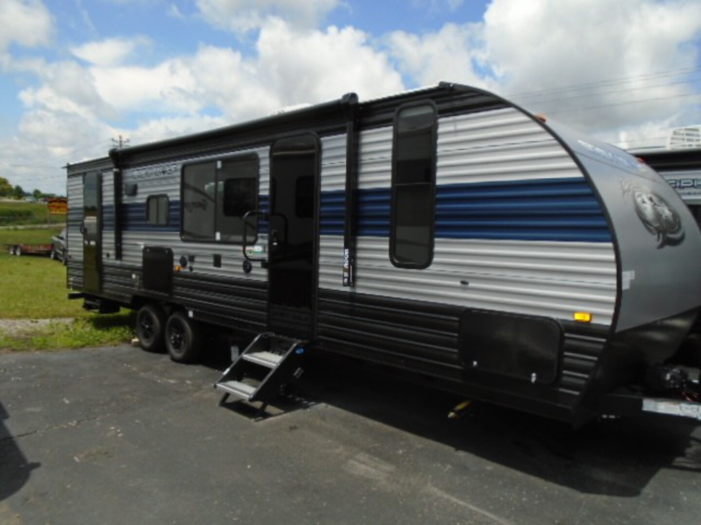New, 2021, Forest River, Grey Wolf 26BRB, Travel Trailers