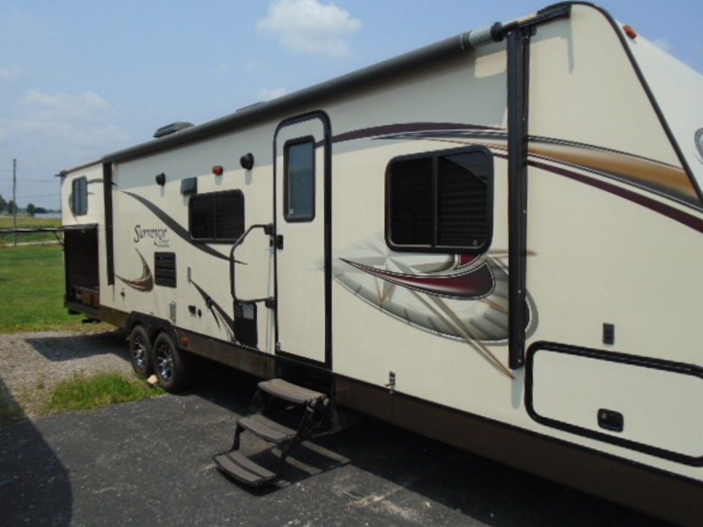 Used, 2012, Forest River, Surveyor Select SV 305, Travel Trailers