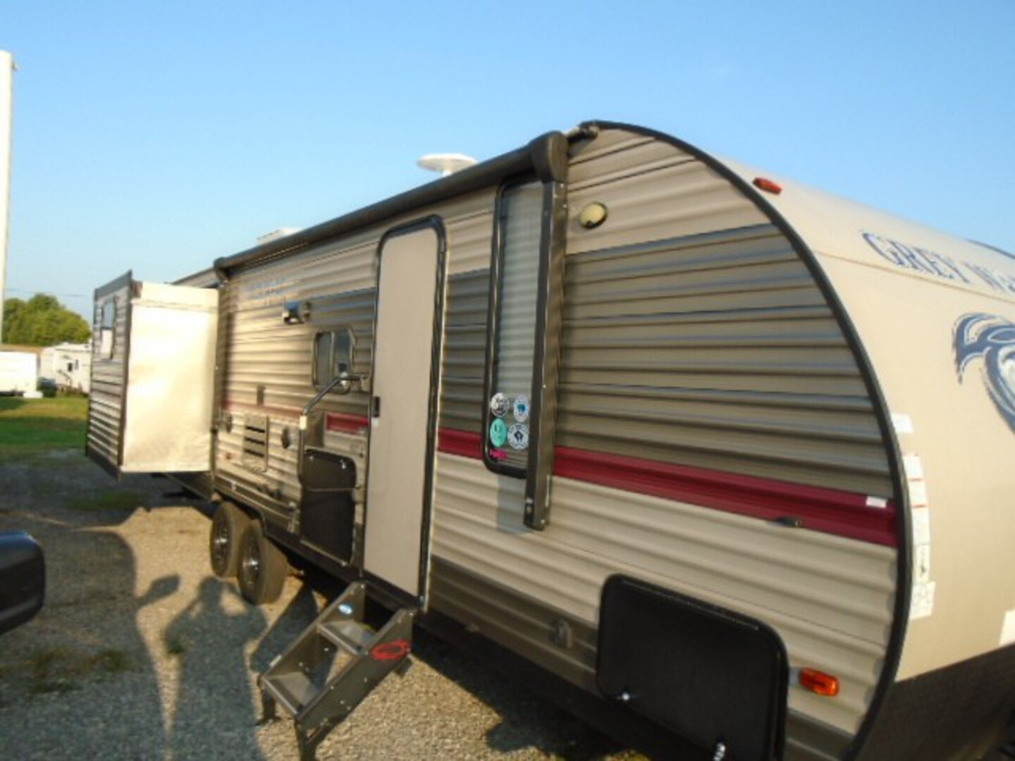 Used, 2018, Forest River, Cherokee Grey Wolf 27DBS, Travel Trailers
