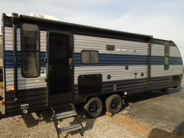 New, 2021, Forest River, 26DBH GREY WOLF, Travel Trailers