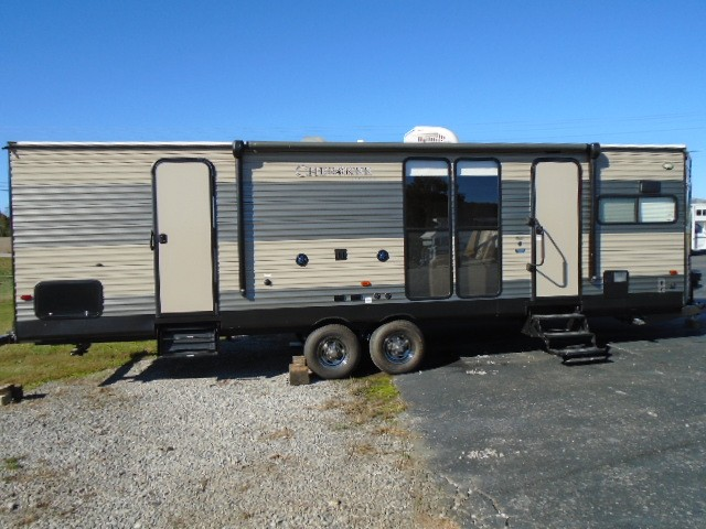 Used, 2018, Forest River, Cherokee 274VFK, Travel Trailers
