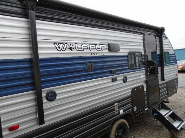 New, 2021, Forest River, Wolf Pup 16HS, Travel Trailers