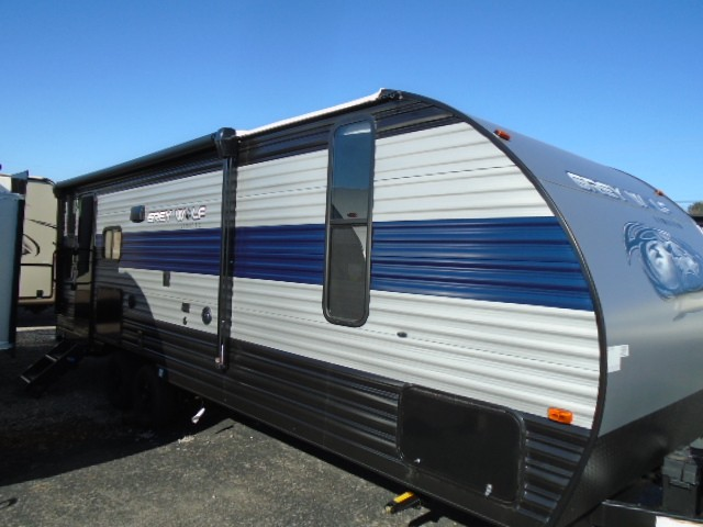 New, 2021, Forest River, 23 MK GREY WOLF, Travel Trailers