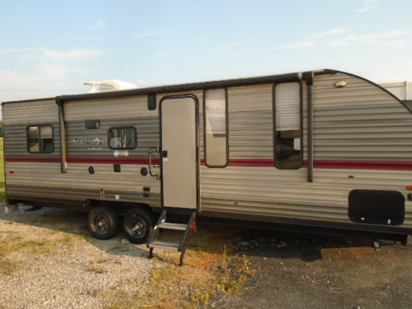 Used, 2018, Forest River, Greywolf 22 RR, Toy Haulers