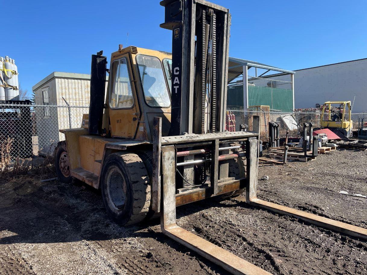 Used, 1992, CAT Lift Trucks, V225, Forklifts / Lift Trucks