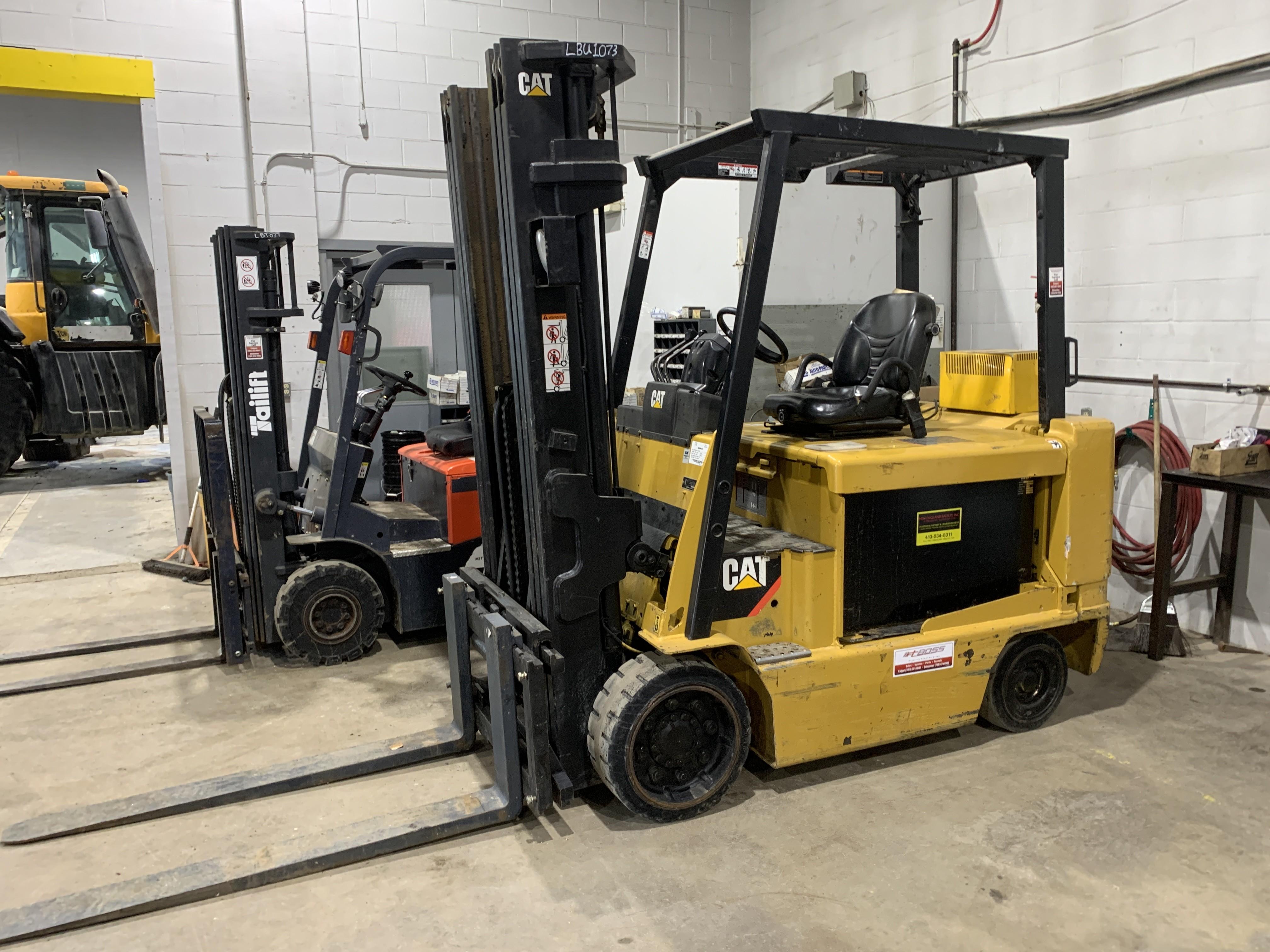 Used, 2008, CAT Lift Trucks, E10000, Forklifts / Lift Trucks