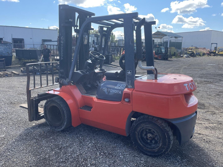 Used, 2007, Toyota Industrial Equipment, 7FDU35, Forklifts / Lift Trucks