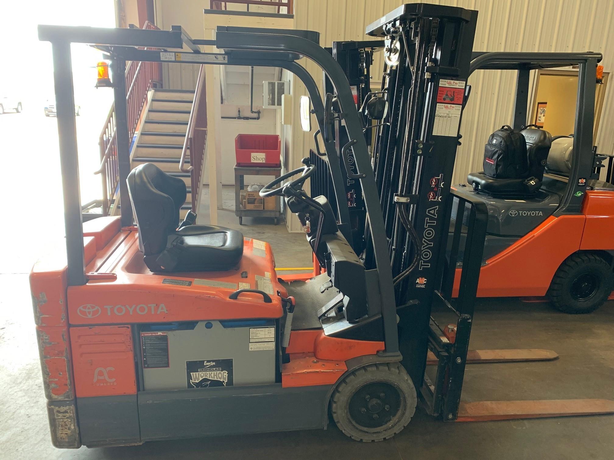 Used, 2014, Toyota Industrial Equipment, 7FBEU20, Forklifts / Lift Trucks