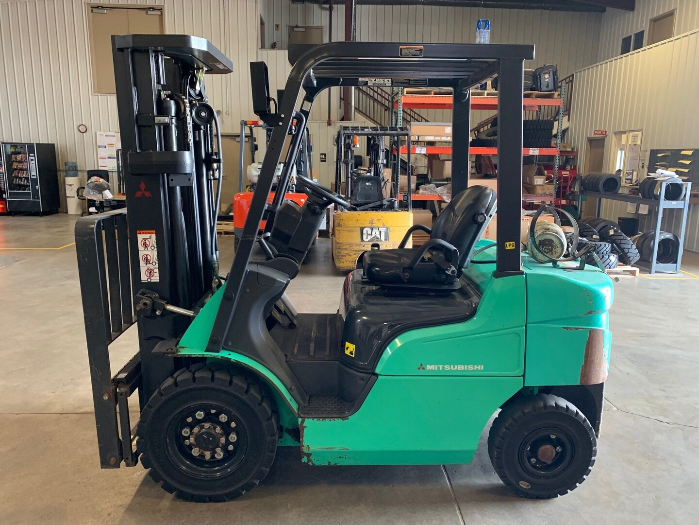 Used, 2017, Mitsubishi Forklift, FG25N, Forklifts / Lift Trucks
