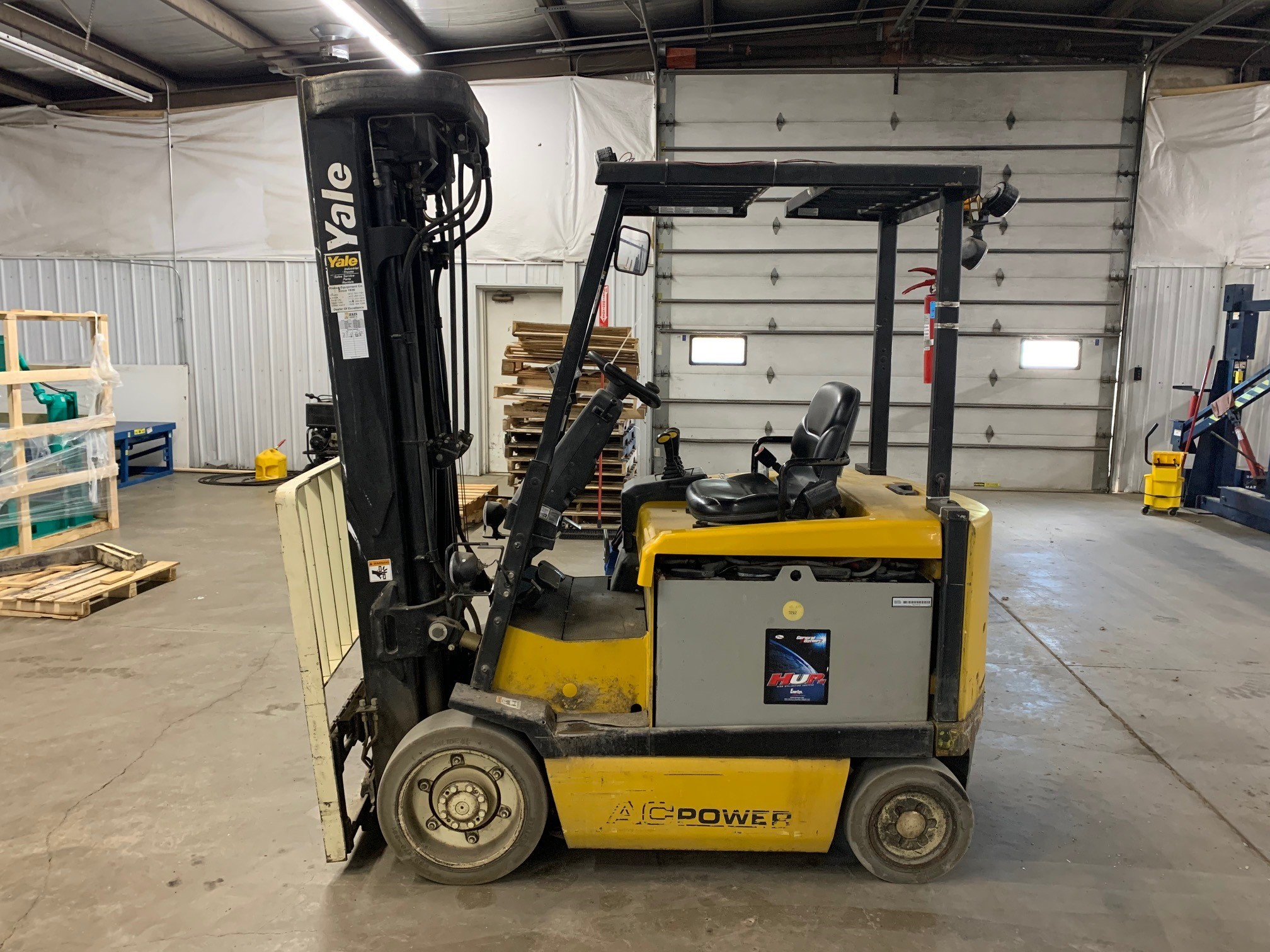 Used, 2008, Yale, ERC050GH, Forklifts / Lift Trucks