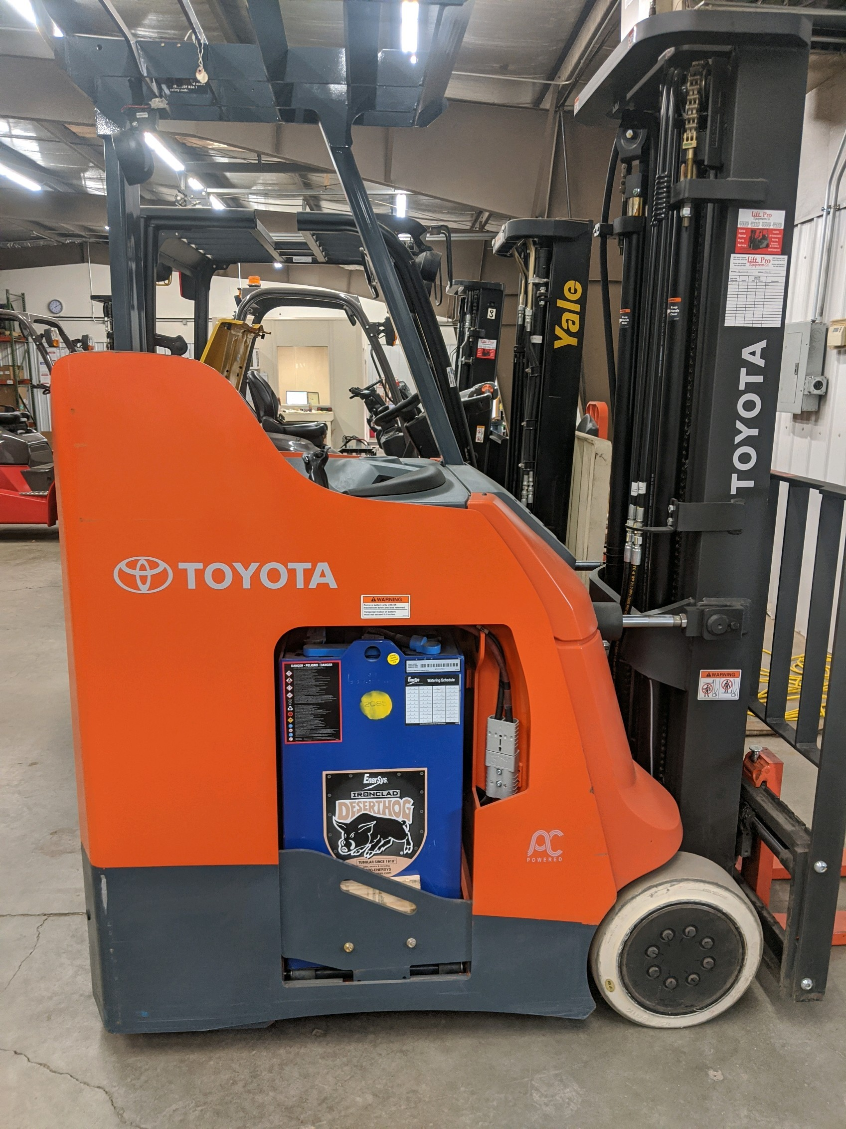 Used, 2019, Toyota Industrial Equipment, 8BNCU18/16.5, Forklifts