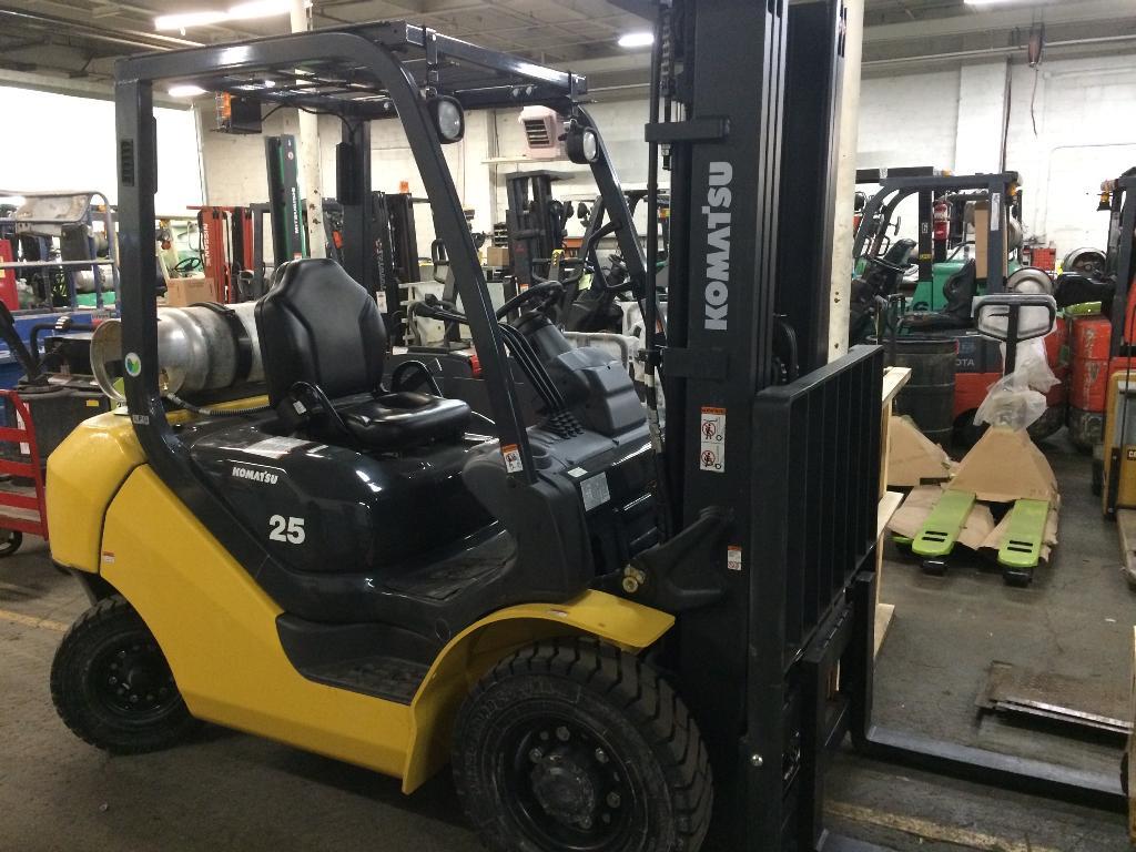 Used, 2015, Komatsu, FG25ST-16, Forklifts / Lift Trucks
