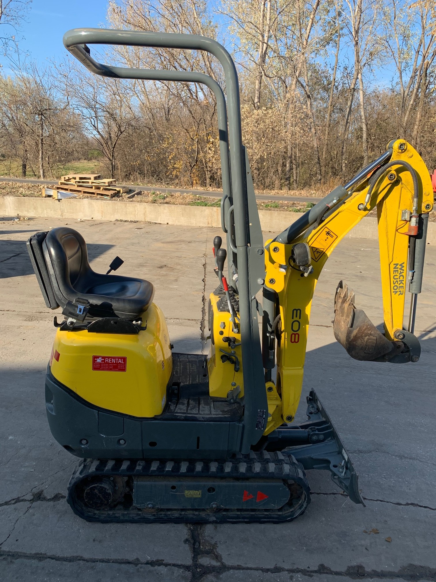 Used, 2019, Wacker Neuson, 803, Excavators