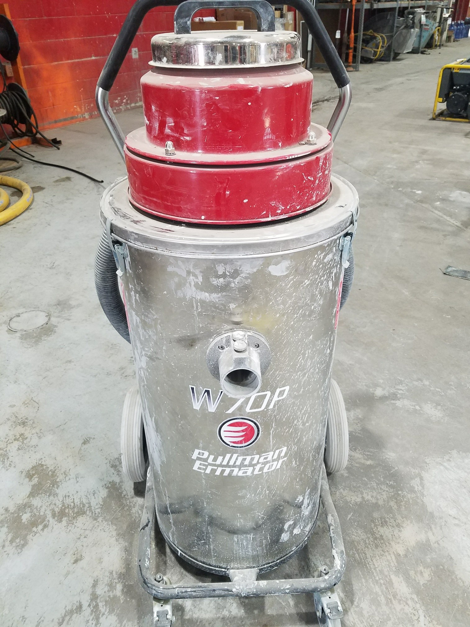 Used, 2017, Other, Ermator W70P Slurry Vacuum w/Pump, Vacuums