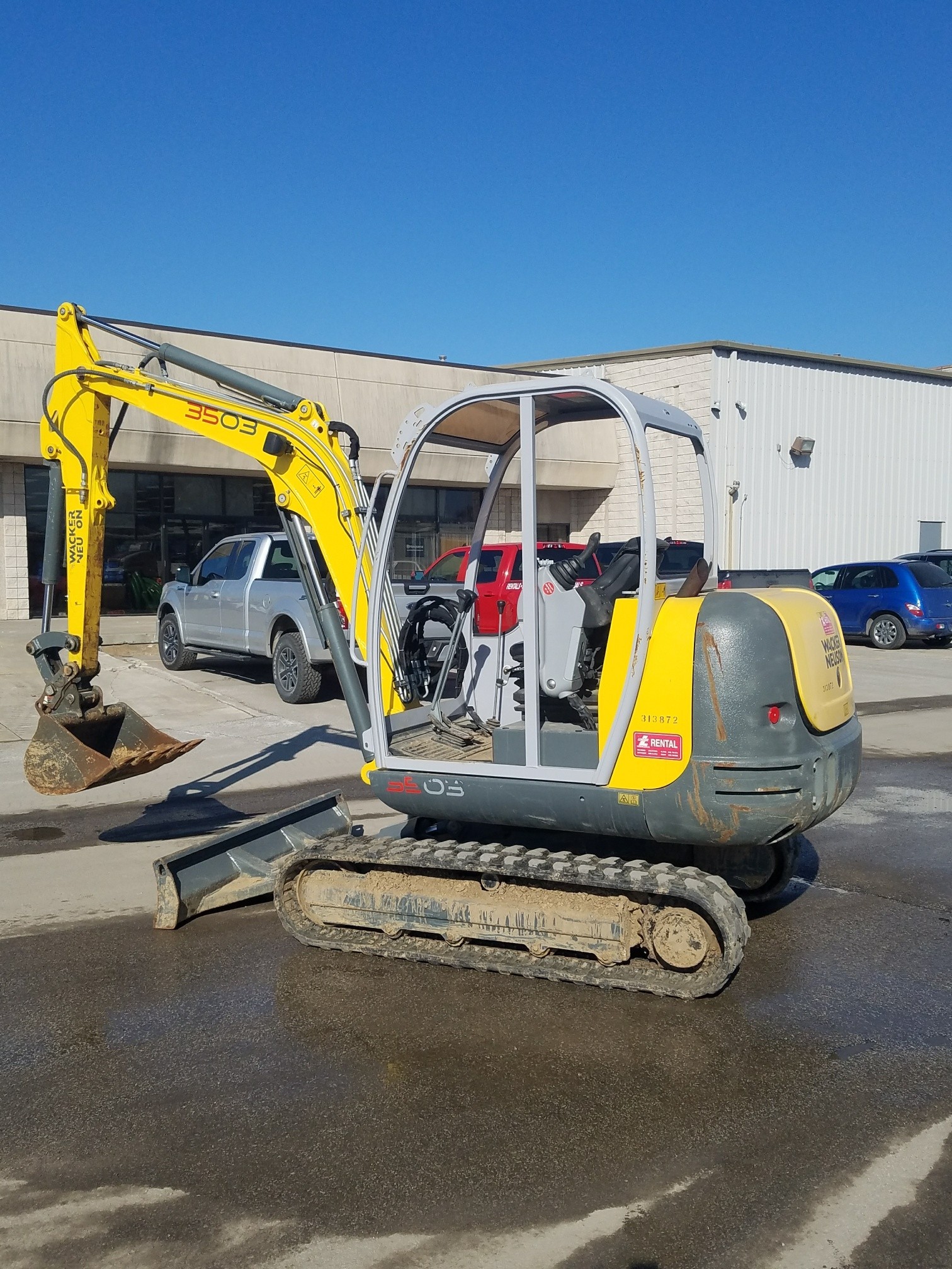 Used, 2017, Wacker Neuson, 3503, Excavators
