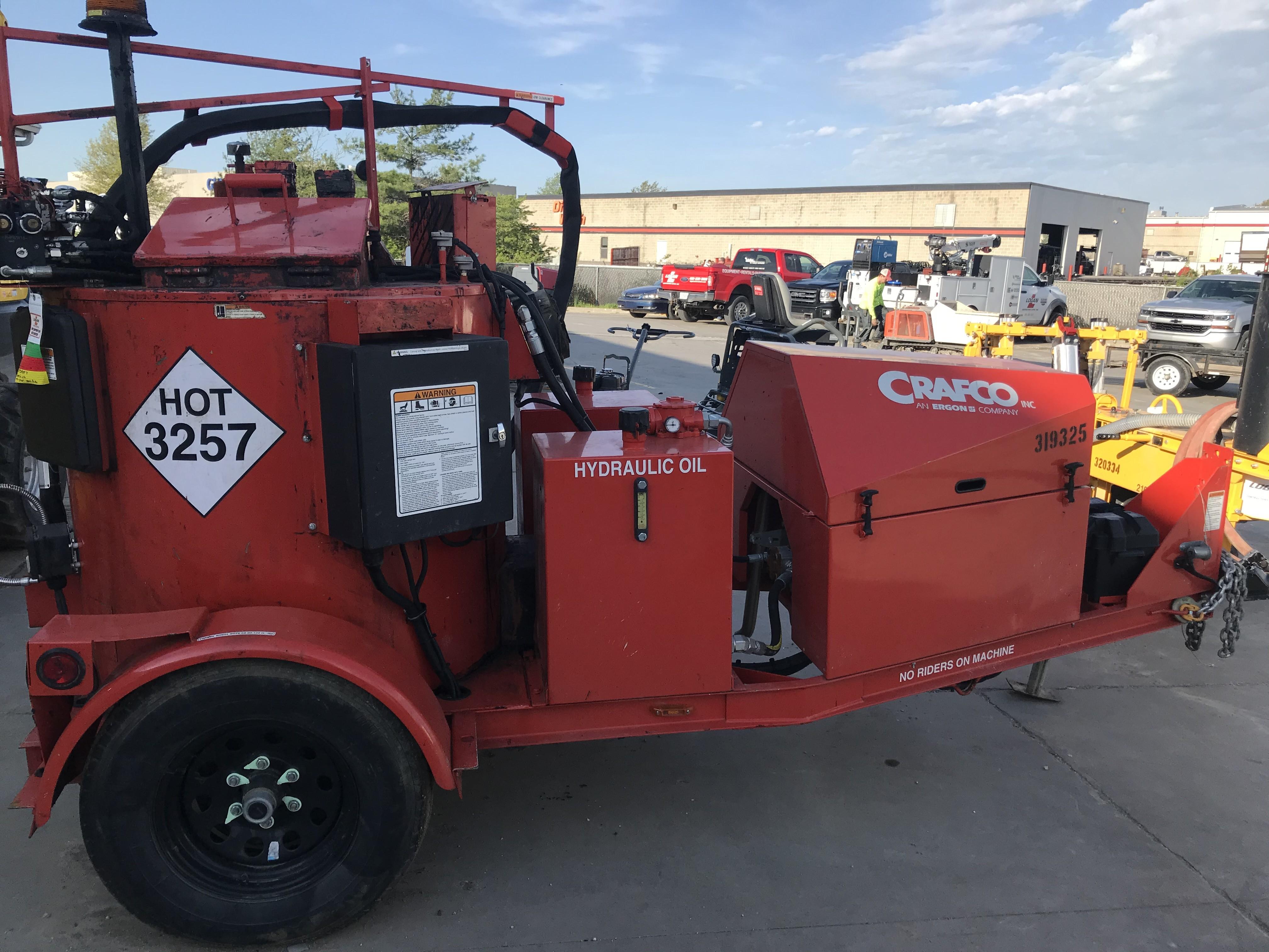 Used, 2019, Crafco, SS125D, Asphalt / Concrete Repair