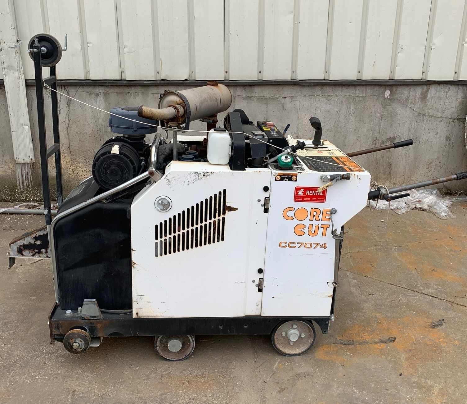 Used, 2012, Diamond Products, CC7074-30NC, Industrial Saws