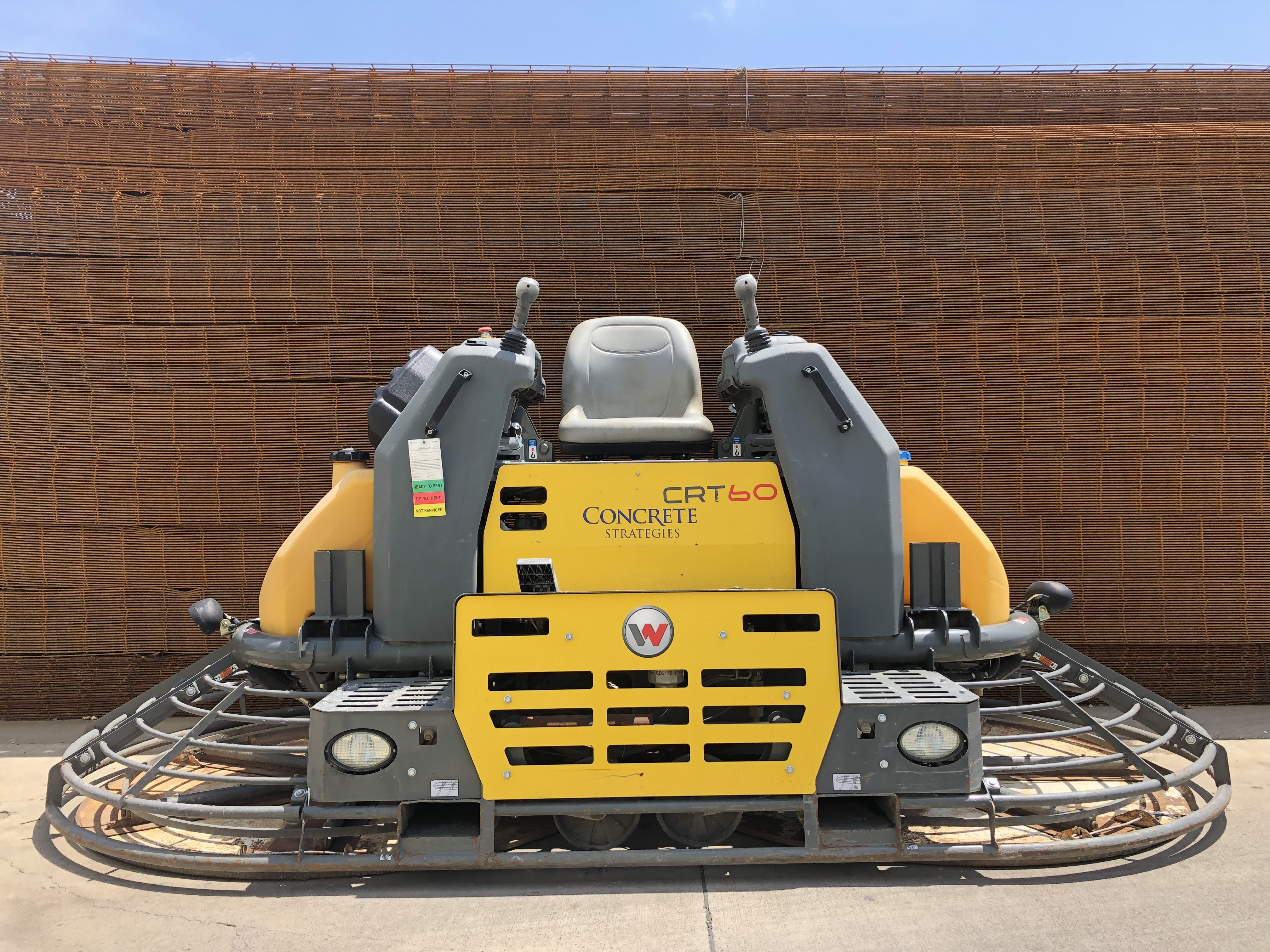 Other, 2016, Wacker Neuson, CRT60-74L (T4), Trowels