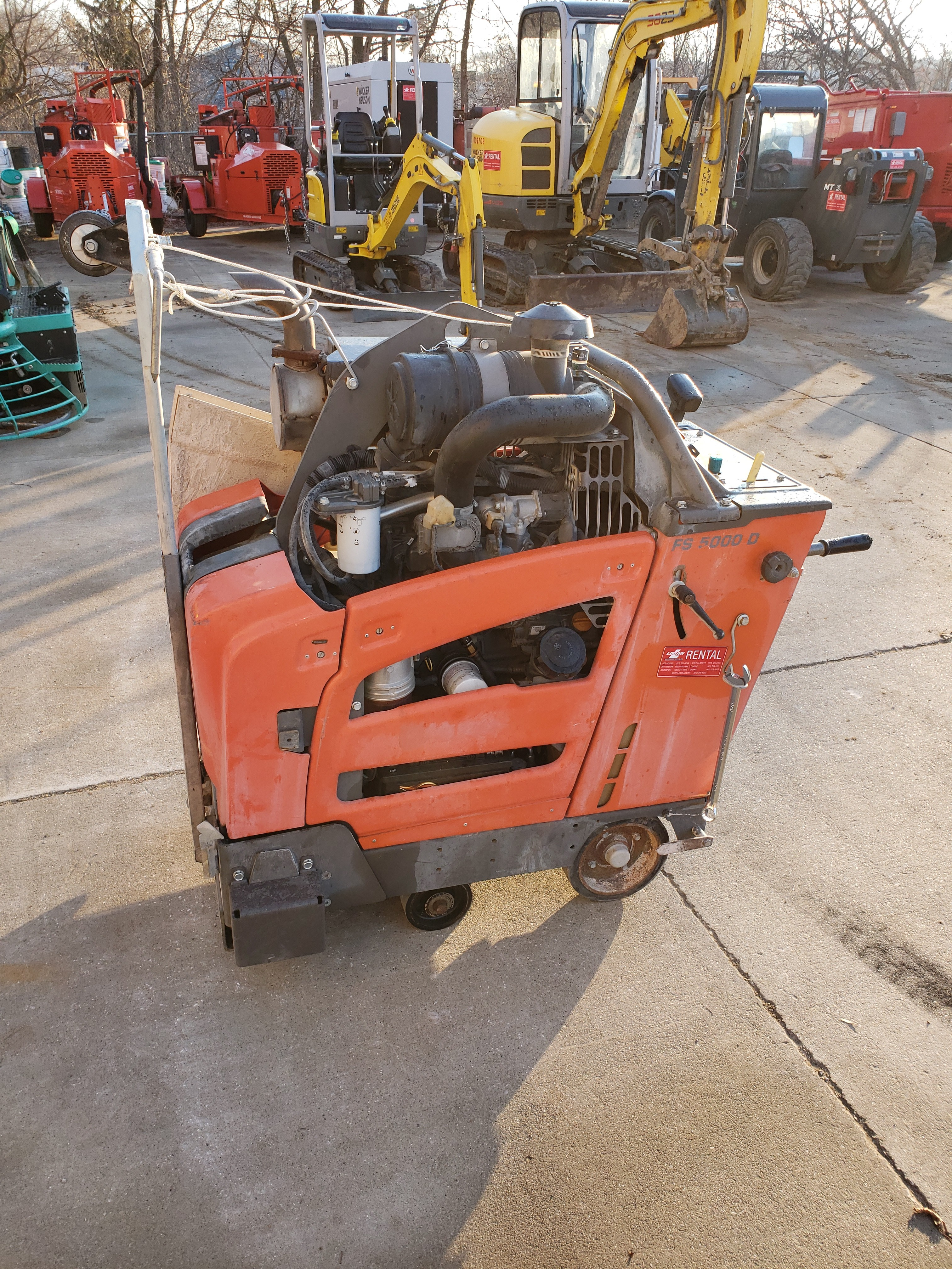 Other, 2016, Husqvarna Construction, FS 5000 D, Industrial Saws