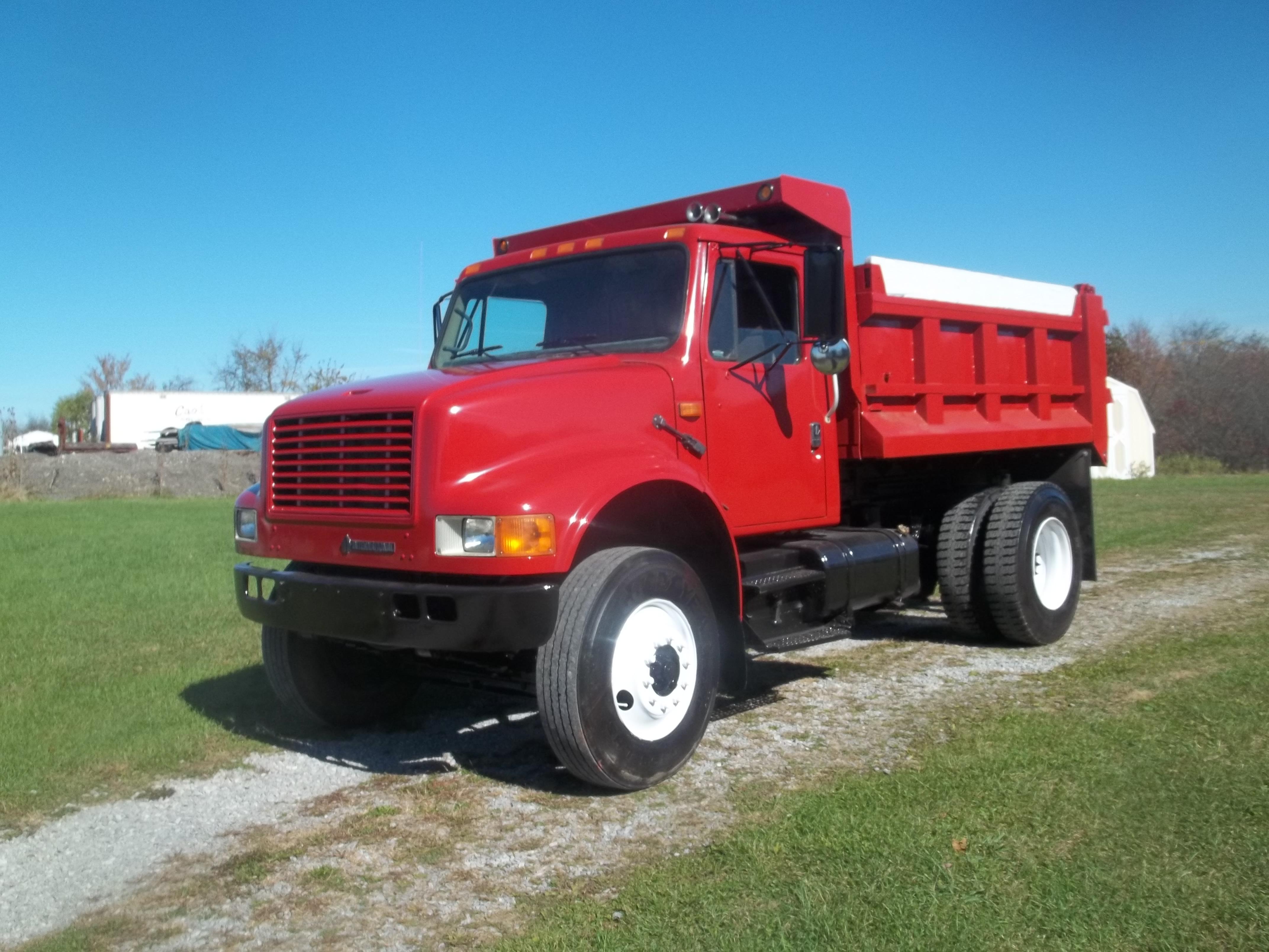 Used, 1993, International, 4900, Dump Trucks