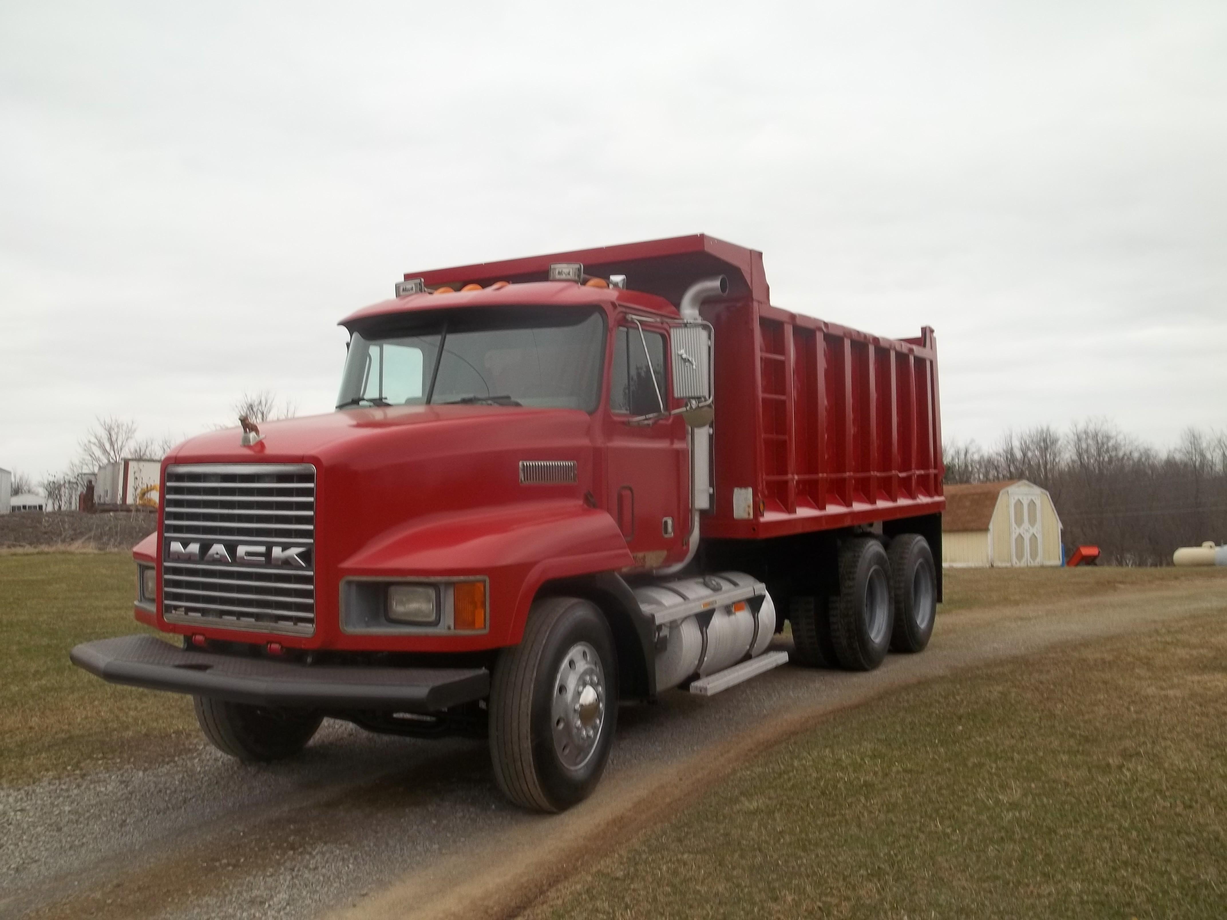 Used, 1993, Mack, CH 613, Dump Trucks