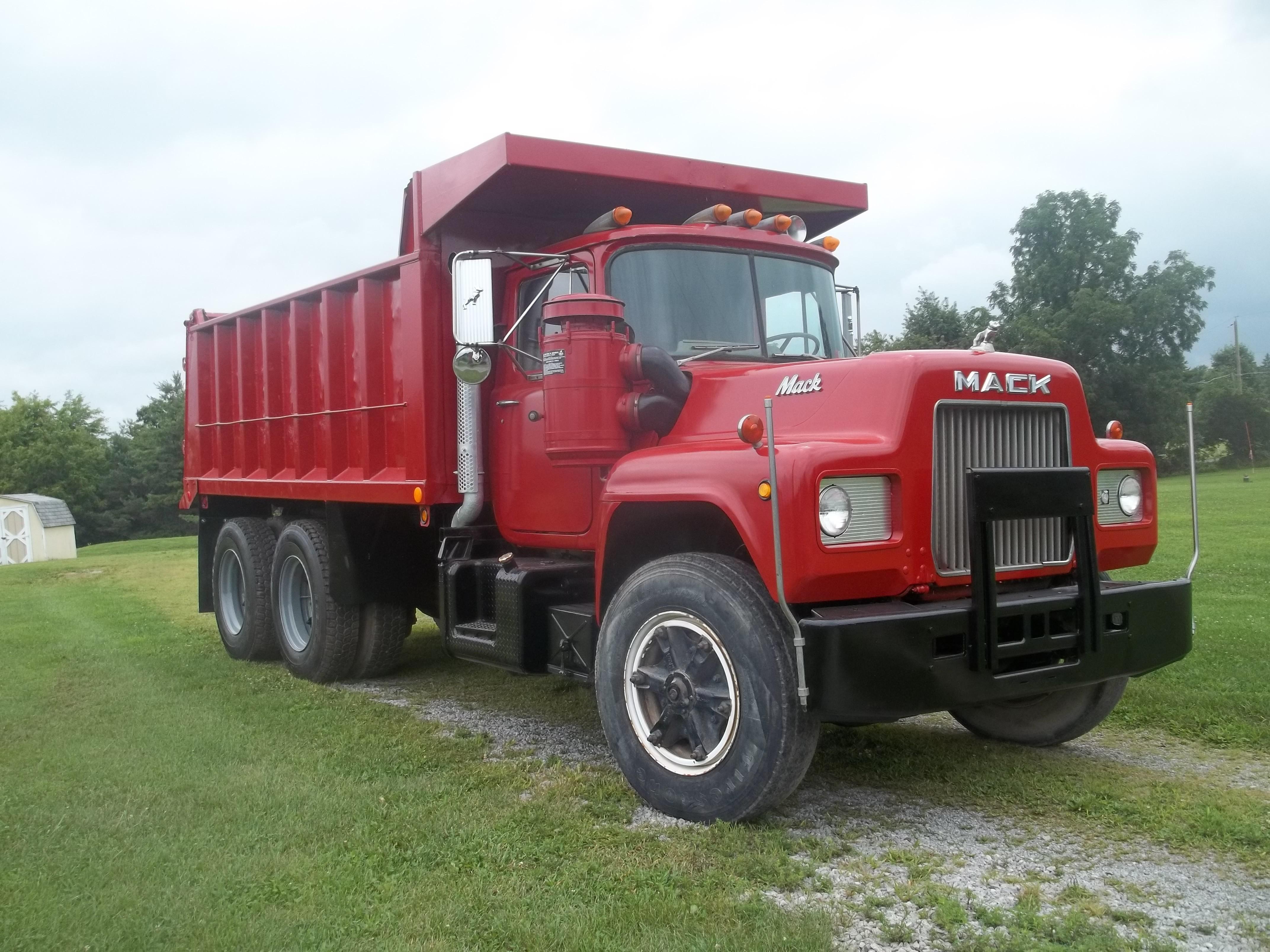 Used, 1978, Mack, R686, Dump Trucks