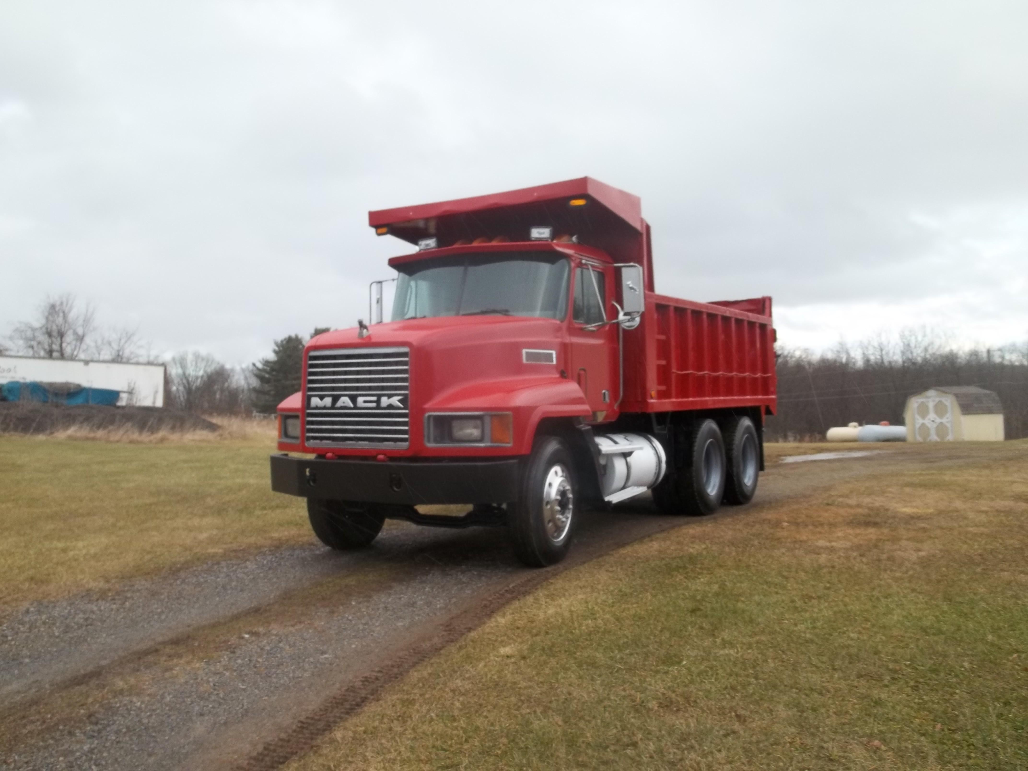 Used, 1990, Mack, CH 613, Dump Trucks